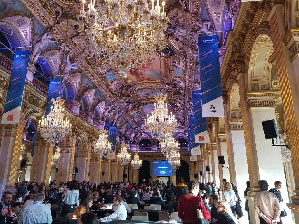 hacking hotel de ville paris 2018